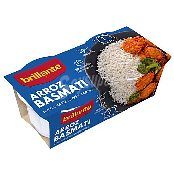 Brillante Arroz basmati para guarnición Pack 2x125 g