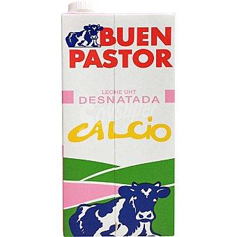 El Buen Pastor Leche desnatada con calcio Envase 1 l