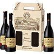 Vino tinto reserva D.O. Rioja estuche 3 botellas 75 cl Monte Real