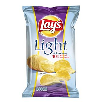 Lay's Patatas fritas light al punto de sal 170 g
