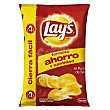 Patatas fritas lisas lay's punto sal Paquete 220 g Lay's