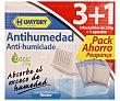 Antihumedad Basic neutro recambios de 250 g + aparato pack ahorro 3 Humydry