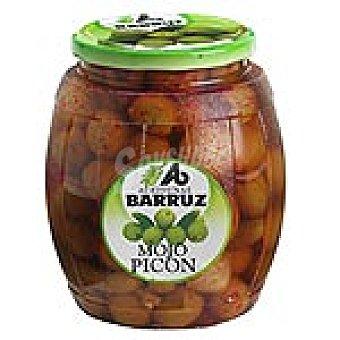 Barruz Aceitunas aliñadas al mojo picón Frasco 500 g neto escurrido