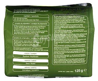 Auchan Café molido de tueste natural en monodosis de origen Brasil (100% arábica) 18 unidades 125 gramos