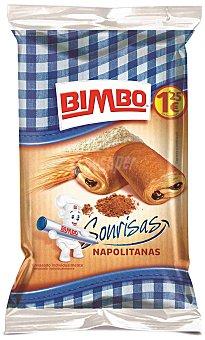 Bimbo Napolitana de choco Paquete 6u 240 gr