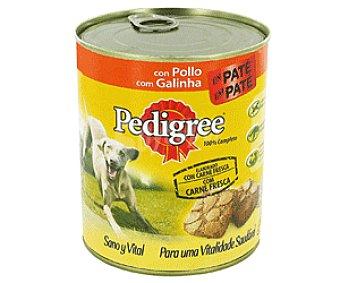 Pedigree Comida Húmeda para Perros. Paté de Pollo 800g