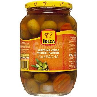 Jolca Aceitunas verdes gazpachas Tarro 500 g