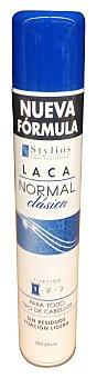 Deliplus Laca fijación cabello normal perfume clásico Bote de 400 cc