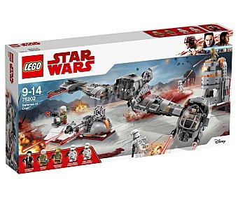 LEGO Star Wars Juego de construcciones con 746 piezas Defensa de Crait, Star Wars 75202 lego