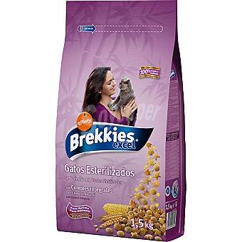 Brekkies Affinity Para gatos esterilizados con cereales integrales Bolsa 1,5 kg