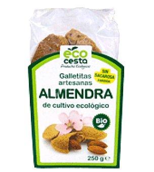 Ecocesta Galletas artesanas de almendra bio 250 g