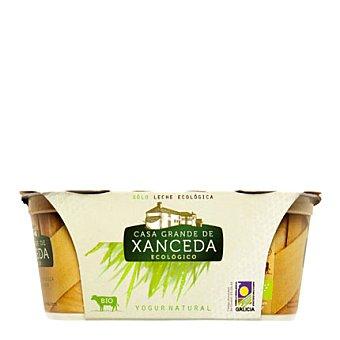 Casa Grande de Xanceda Yogur cremoso ecológico natural Pack de 2x125 g