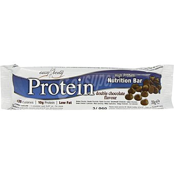 EASY BODY Protein Bar Barrita energética sabor chocolate Unidad 35 g