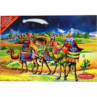 Miguelañez Wawi calendario de Adviento chocolates  unidad 75 g