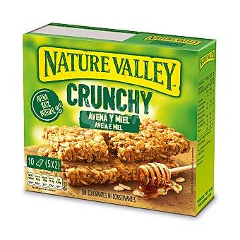 Nature Valley Barrita de cereales crunchy avena y miel caja 210 gr Caja 210 gr