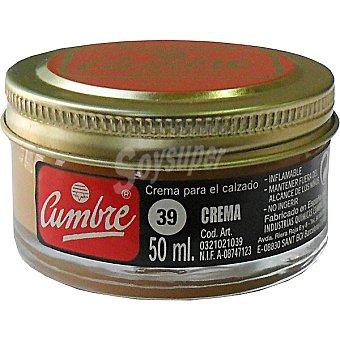 CUMBRE Limpia calzado crema cuero tarro 1 unidad Tarro 1 unidad