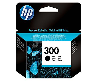 HP Cartucho de tinta 300 negro negro