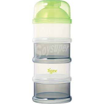 TIGEX Dosificador de leche con 4 compartimentos blister 1 unidad