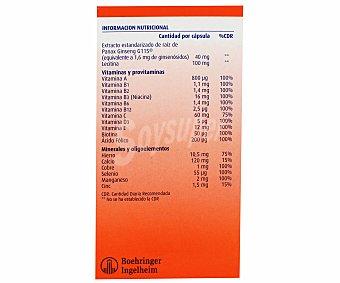 PHARMATON Complex Complemento aliementicio (vitaminas y minerales con extracto estandarizado de ginseng G115) 60 c