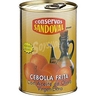 Sandoval Cebolla frita con aceite de oliva Lata 400 g