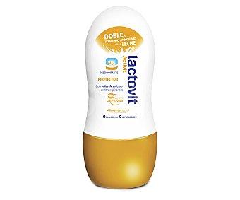 Lactovit Desodorante Roll-On, con sales de calcio y antitranspirantes 50 mililitros