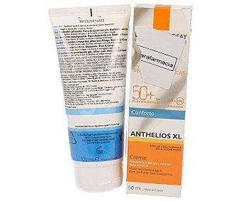 La Roche-Posay Protector solar facial con factor de protección 50 + aftersun de regalo 100 ml