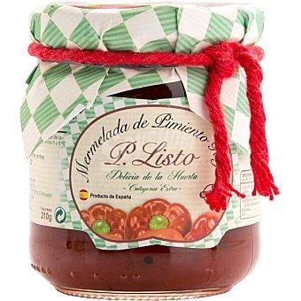 P. listo Mermelada de pimiento rojo Frasco 210 g