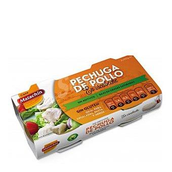 CASA MATACHIN Pechuga de pollo en escabeche Pack de 2x56 g