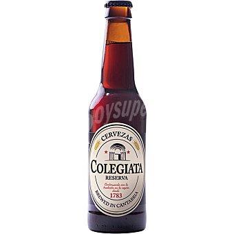 Colegiata Reserva cerveza tostada artesana de Cantabria Botella 33 cl