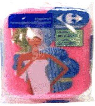 Carrefour Esponja de baño masaje doble acción 1 ud