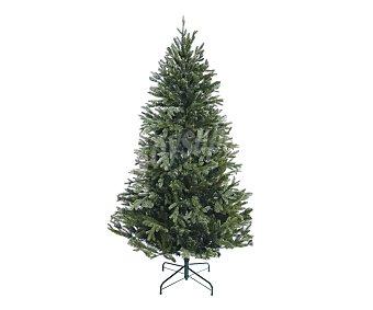 Actuel Árbol de navidad nevado de 2168 ramas y 180 centímetros, pie metálico, actuel.