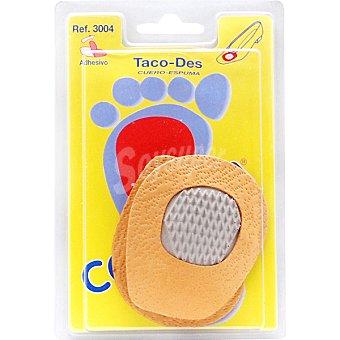 Codyfer Plantilla taco cuero látex antideslizante talla única