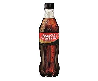 Coca-Cola Zero Refresco de cola sin cafeína Botellín 50 cl