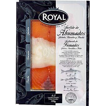 Royal Pescados surtido de ahumados sobre 100 g