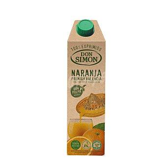 Don Simón Zumo exprimido de naranja Brick de 1 litro