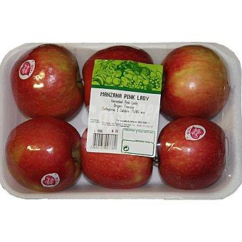 Pink Lady Manzanas peso aproximado bandeja 1,3 kg