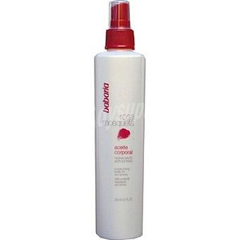 Babaria Aceite corporal rosa mosqueta hidratante anti-estrías Envase 250 ml
