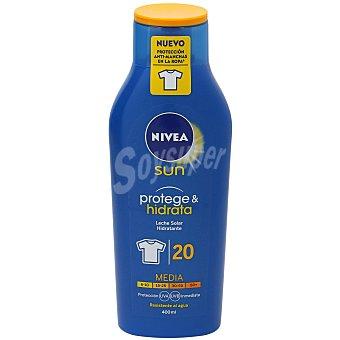 Nivea Nivea FP 20 Leche Solar hidratante.protección media 400 ml