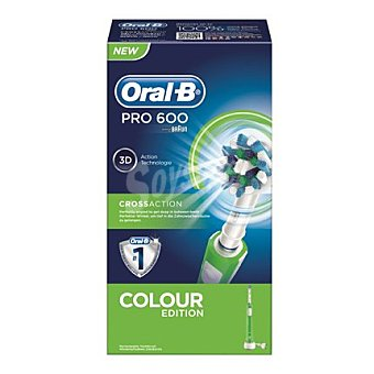 Oral-B Cepillo dental eléctrico Pro 600 Cross action 1 unidad