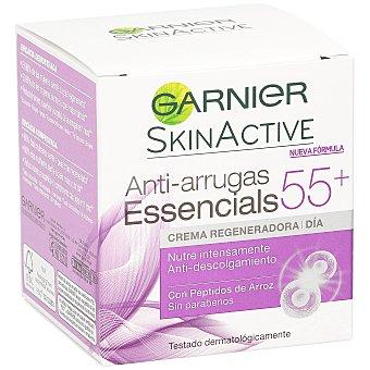 Skin Naturals Garnier Crema regeneradora essencials 55+ años Frasco 50 ml