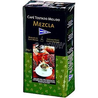 Hipercor Café molido mezcla 50-50 Paquete 250 g