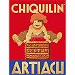 Galletas de desayuno en lata vintage de 1,75 kg pack 2 x 875g Chiquilín Artiach