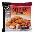 Delicias pollo congelado Paquete 500 g Preli