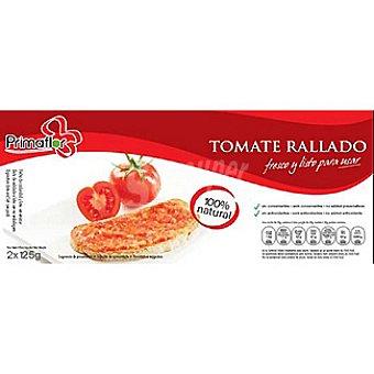 PRIMAFLOR Tomate rallado Pack 2 tarrina 125 g