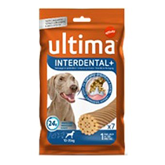 Ultima Affinity Snack interdental plus para perro Paquete 210 g