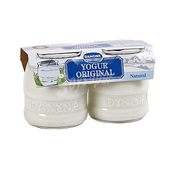 Danone Yogur original natural Pack 2 x 135 g