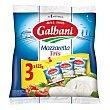 Mozzarella Tris 3 x 125 g Galbani