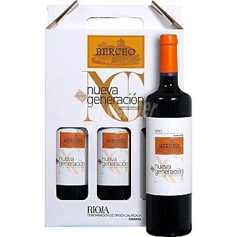 Berceo Nueva Generación Vino tinto crianza D.O. Rioja Estuche 3 botellas 75 cl