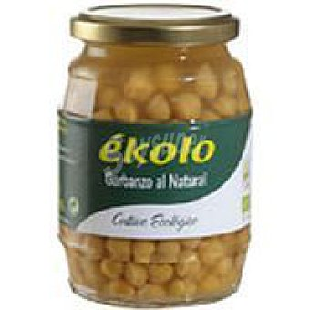 Ékolo Garbanzos al natural Bio Frasco 370 g