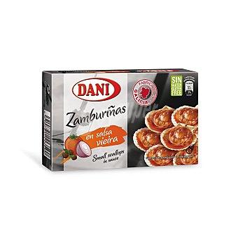 Dani Zamburiñas en salsa de vieira lata 63 g Lata 63 g